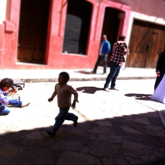 Photo taken at Andador Real de Guadalupe by Anel V. on 9/18/2012