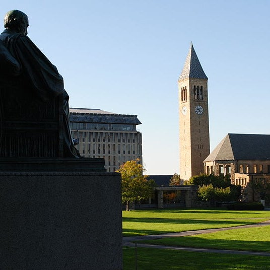 Cornell has been described as the first truly American university because of its dedication to its land-grant mission of outreach and public service.