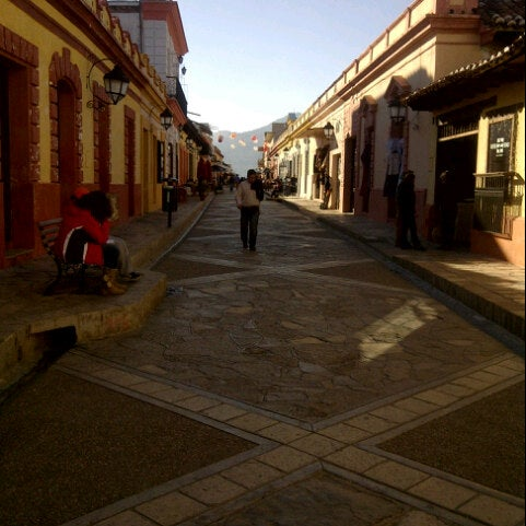 Photo taken at Andador Real de Guadalupe by Ana C. on 12/22/2012