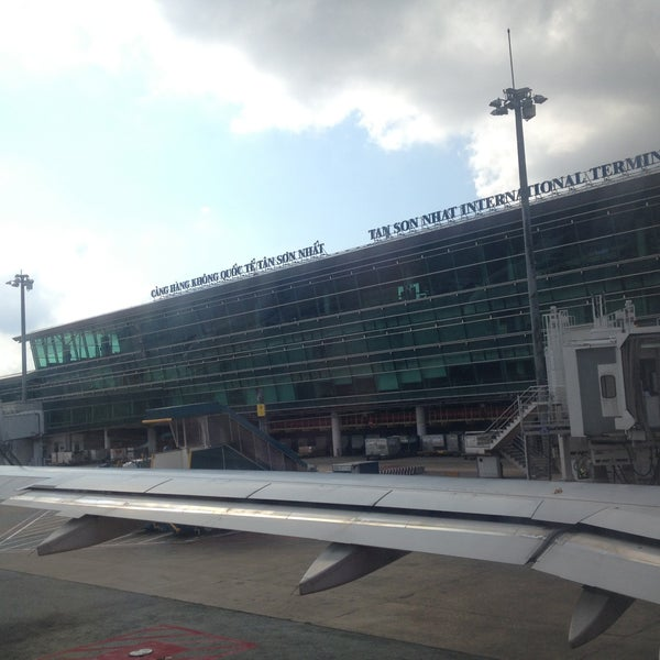 Photo taken at Tan Son Nhat International Airport (SGN) by Clarke B. on 4/17/2013
