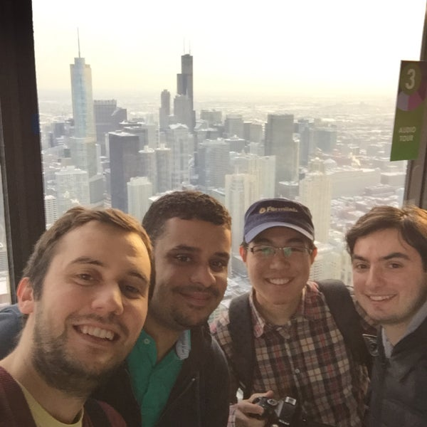 Photo taken at John Hancock Center by ugur a. on 2/4/2015