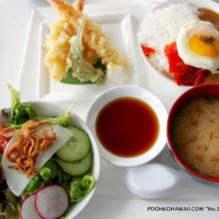 """モリモト・ワイキキの美味しい和食ランチがおすすめ! """" Morimoto Waikiki Onolicious Japanese Lunch Set"""" #Hawaii #ハワイ The Modern Honolulu Iron Chef Morimoto http://www.poohkohawaii.com/gourmet/morimoto_lunch.html"""