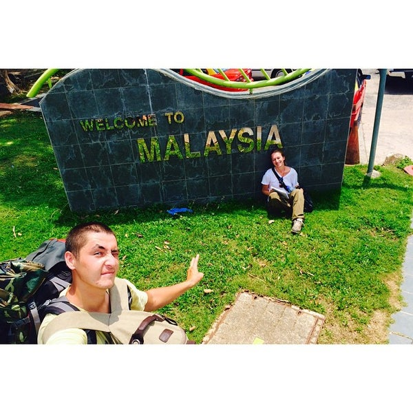 Photo taken at Bukit Kayu Hitam Immigration Complex by Руслан А. on 3/5/2015
