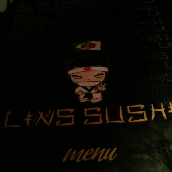 Photo taken at Lins Sushi by Guilherme A. on 3/1/2014