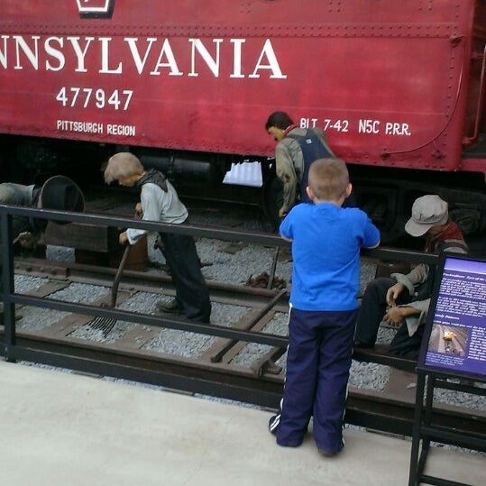 Photo taken at Railroad Museum of Pennsylvania by Lauri L. on 5/6/2014