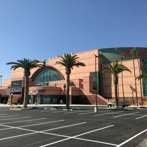 Honda Center Hockey Arena In Anaheim