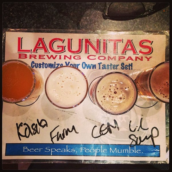 Photo taken at Lagunitas Brewing Company by Nicolas T. on 8/4/2013