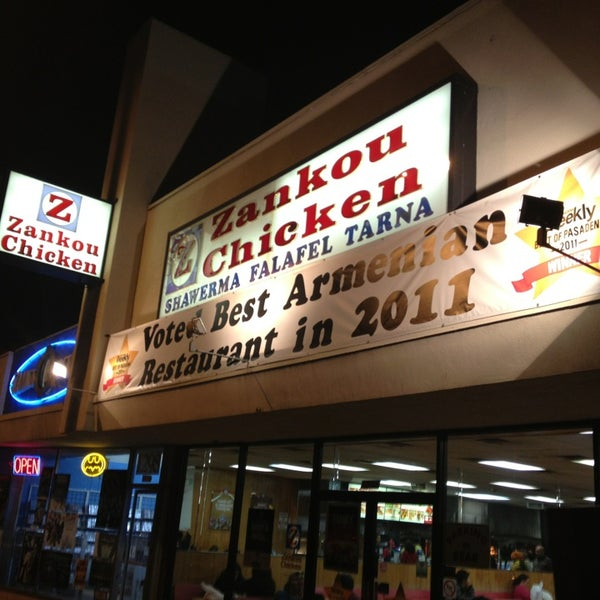 Photo taken at Zankou Chicken by Michael F. on 1/14/2013