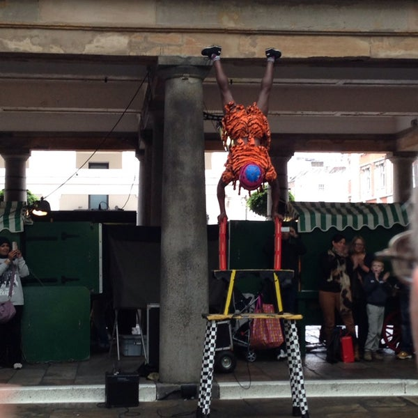 Photo taken at Covent Garden Market by Jane L. on 10/19/2013