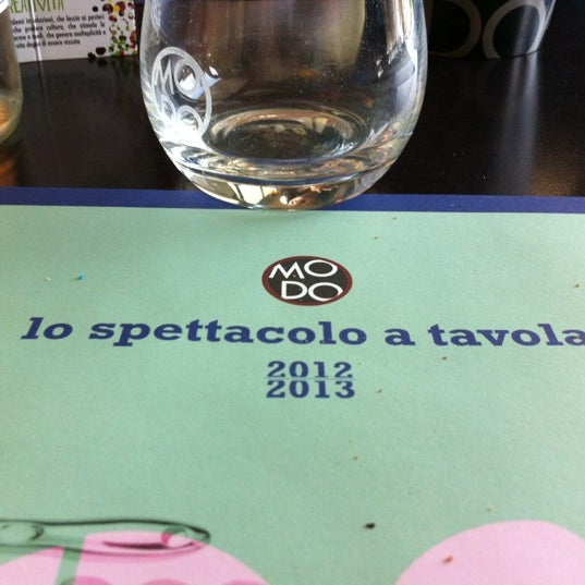 Photo taken at Pizzeria Ristorante Modo by Michele P. on 11/14/2012