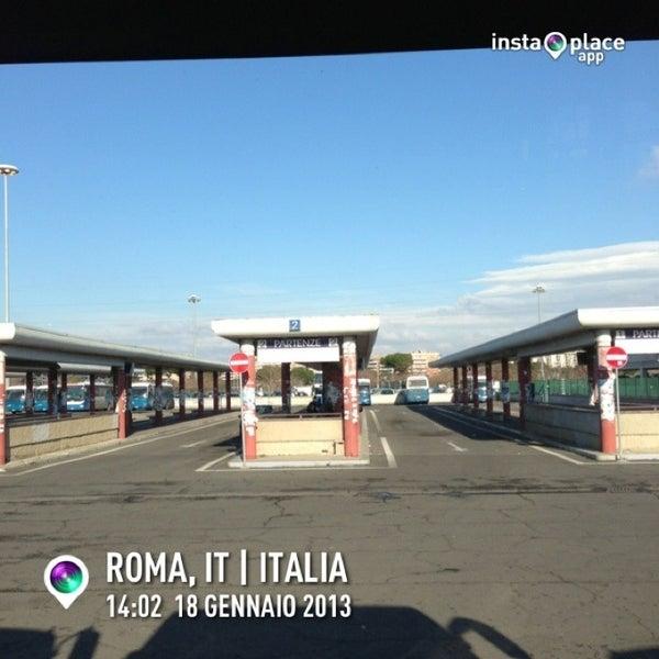 Foto scattata a Terminal Bus Anagnina da Elvezio M. il 1/18/2013