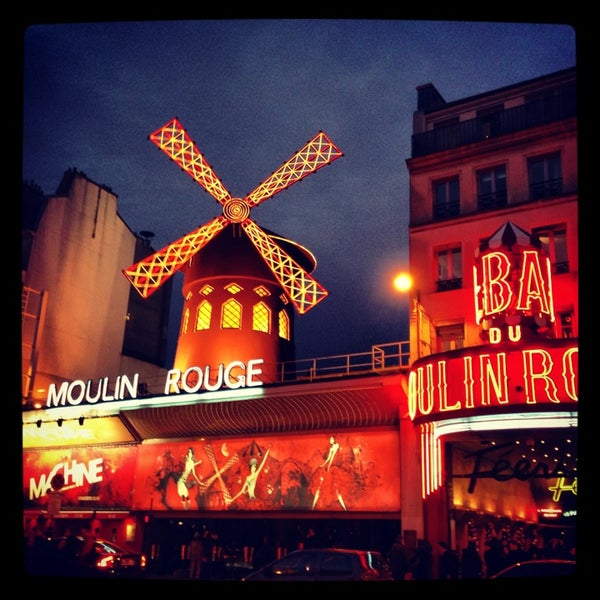 Photo taken at Moulin Rouge by Anna A. on 1/2/2013