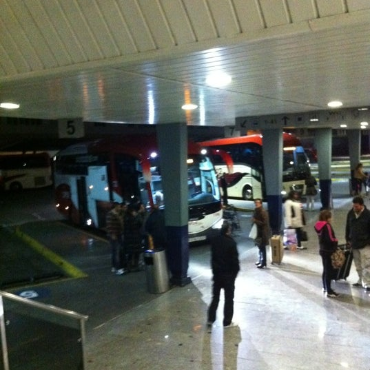 Photo taken at Estación de Autobuses de Valencia by Jandro on 12/16/2012