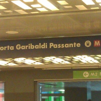 Passante porta garibaldi linee s light rail station in - Passante porta garibaldi ...