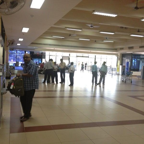 Photo taken at Dabolim Goa International Airport (GOI) by Ekaterina S. on 3/28/2013