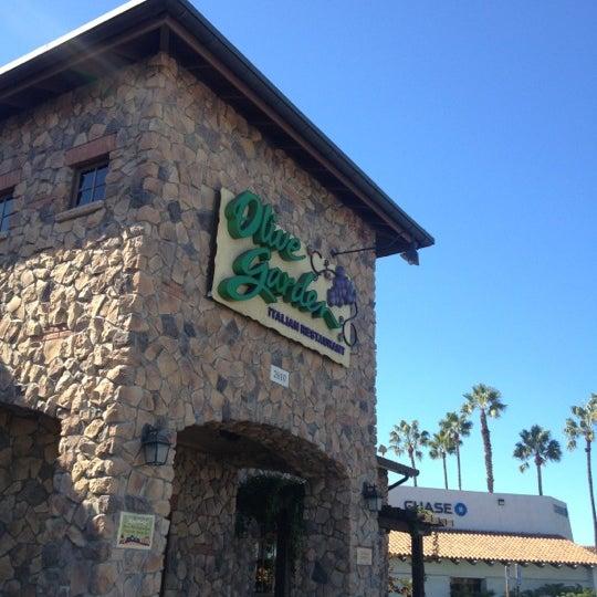 Olive garden italian restaurant in manhattan village for Olive garden manhattan beach ca