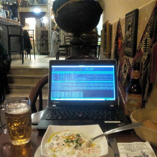 Photo taken at Armenian Tavern by KANGOULYA on 12/25/2015