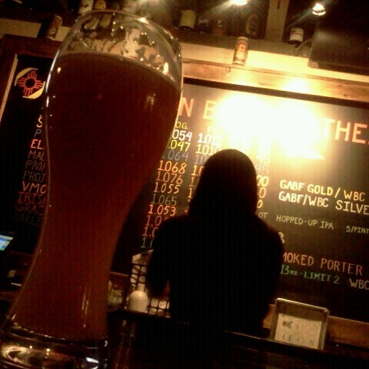Photo taken at La Cumbre Brewing Company by Kristy L. on 4/21/2013