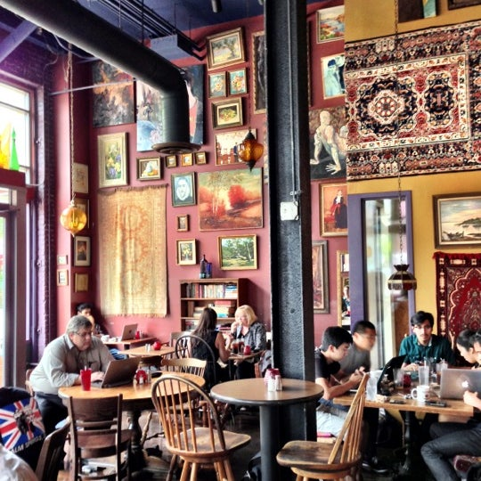 Photo taken at The Gypsy Den Grand Central Café by Mel M. on 7/2/2013