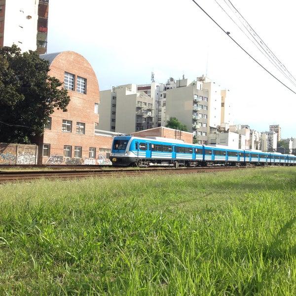 Photo taken at Estación Caballito [Línea Sarmiento] by MiKe R. on 2/28/2016