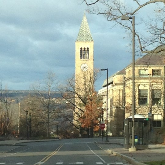 Photo taken at Bailey Hall by Miguel G. on 11/24/2012