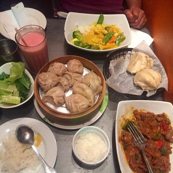 Photo taken at Cafe Tibet by Pedro J. on 8/2/2015