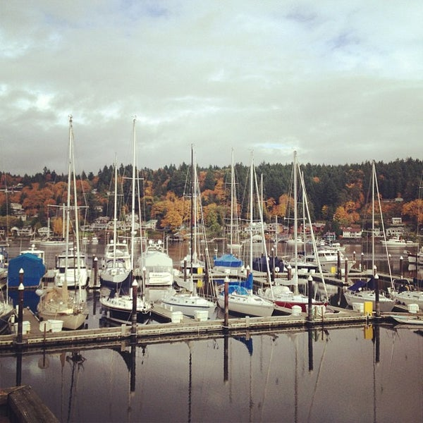Photo taken at Gig Harbor Waterfront by Rich W. on 11/1/2012