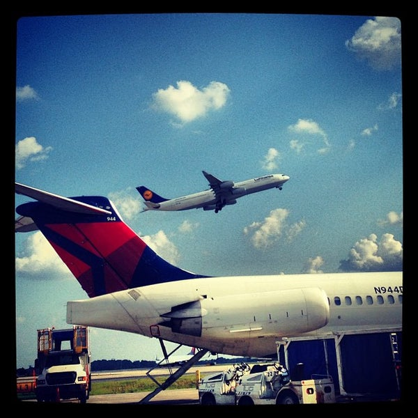 Photo taken at Hartsfield-Jackson Atlanta International Airport (ATL) by Ryan H. on 6/11/2013