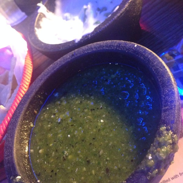 Verde sauce has Heat! Good combo with the Queso.