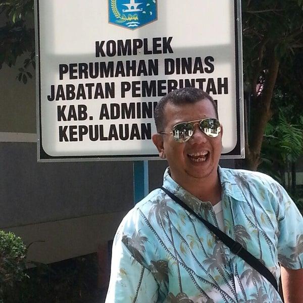 Photo taken at Pulau Pramuka by fuad b. on 6/21/2014