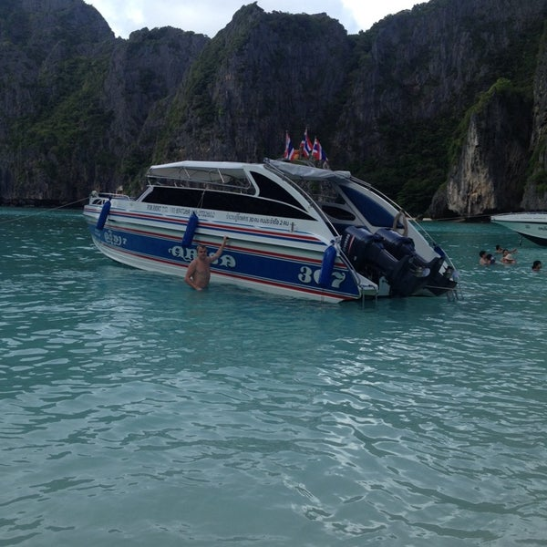 Photo taken at เกาะพีพีดอน (Koh Phi Phi Don) by MAXIM ✌️ on 10/26/2013