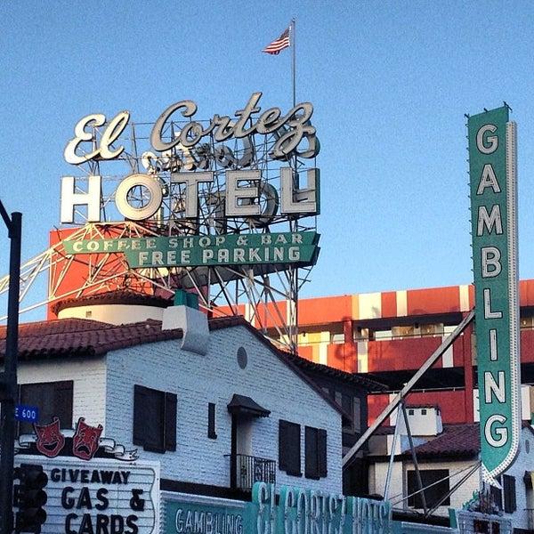 Photo taken at El Cortez Hotel & Casino by Jess S. on 12/8/2012
