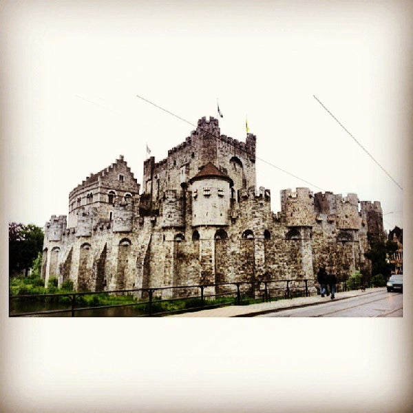 Photo taken at Gravensteen / Castle of the Counts by toEyZ Z. on 6/21/2013