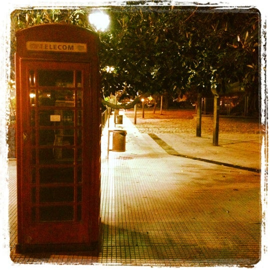 Photo taken at Plaza Francia by Juan Camilo J. on 11/14/2012