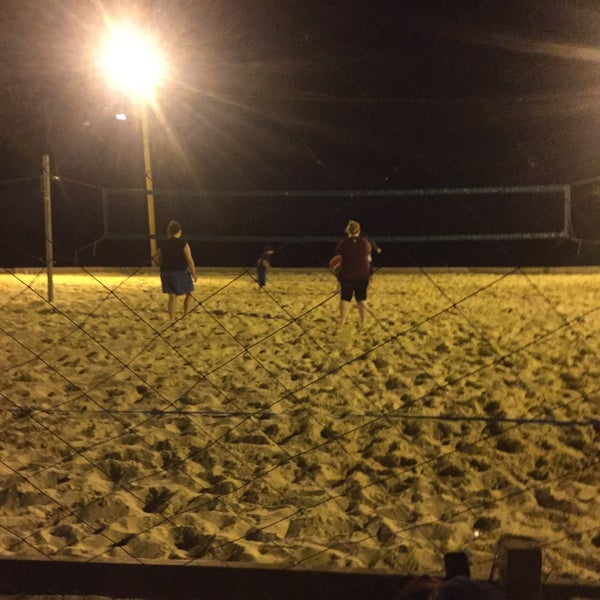 Photo taken at Whiskey Island Volleyball Courts by Jim F. on 6/1/2016