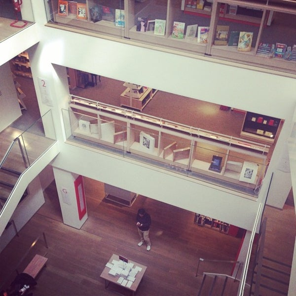 Photo taken at Foyles by Ian S. on 6/18/2014