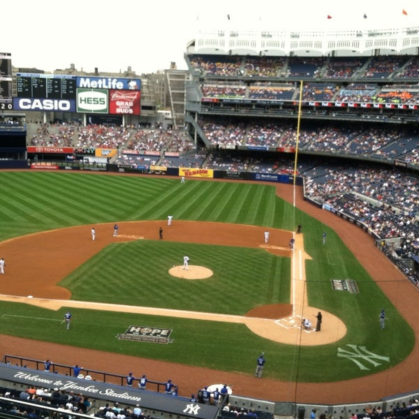 Photo taken at Yankee Stadium by Kyle M. on 7/11/2013