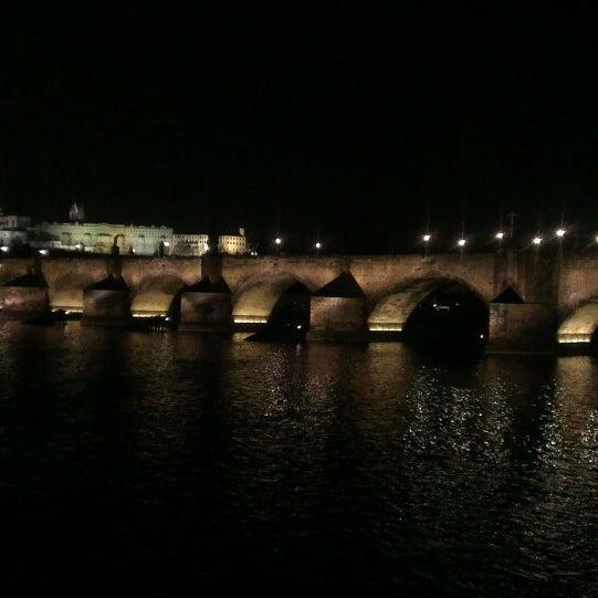 Photo taken at Karlův most | Charles Bridge by Максим В. on 3/16/2015