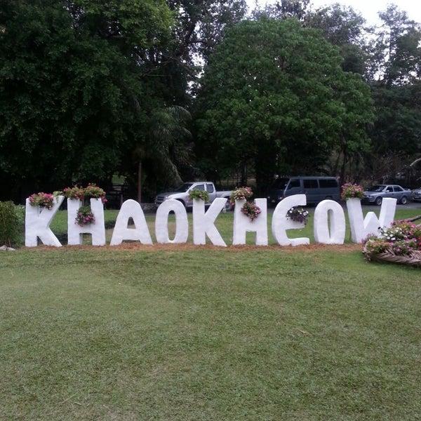 Photo taken at สวนสัตว์เปิดเขาเขียว (Khao Kheow Open Zoo) by Андрей И. on 3/3/2013