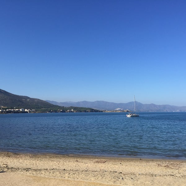 Photo taken at El Port de la Selva by Eva M. on 10/29/2016