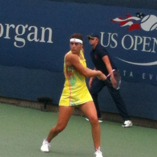Photo taken at 2014 US Open Tennis Championships by Poncho on 8/28/2012