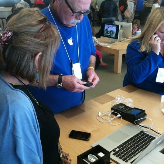 Photo taken at Apple Friendly Center by Derek S. on 2/28/2012
