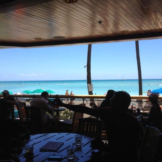 Photo taken at Duke's Waikiki by Sid K. on 9/3/2012