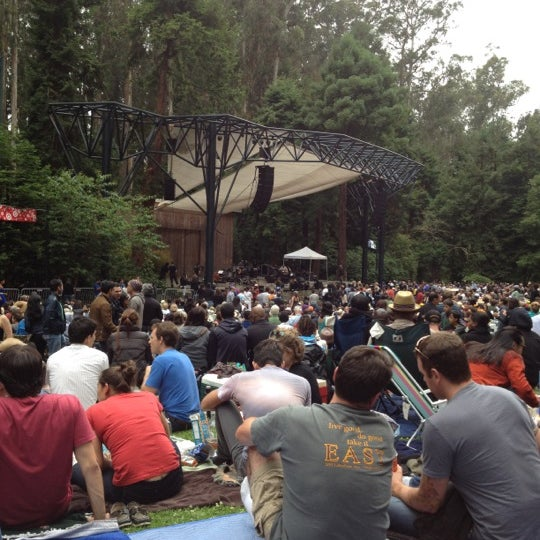 Photo taken at Sigmund Stern Grove by Anne N. on 7/15/2012