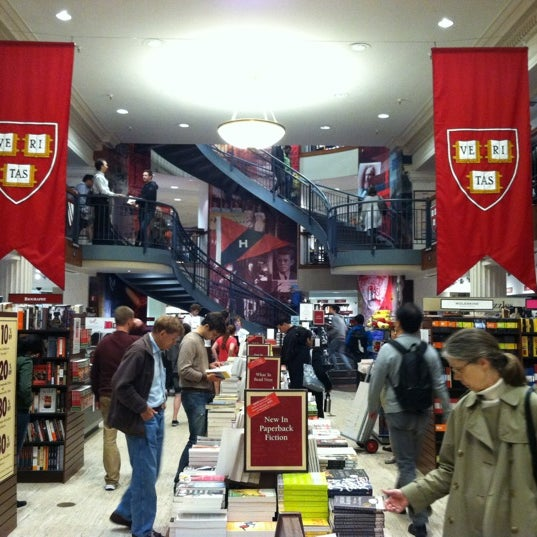Photo taken at Harvard Coop Society Bookstore by Sergio R. on 6/3/2012