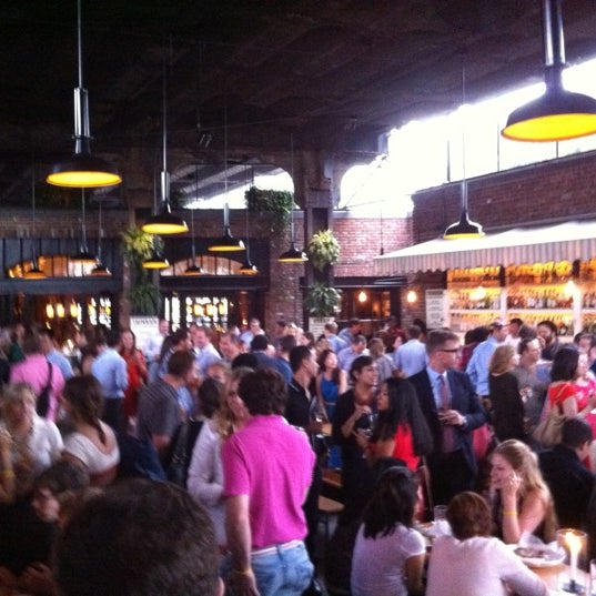 Photo taken at The Biergarten at The Standard by Matt S. on 7/19/2012