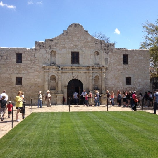 Photo taken at The Alamo by Dave F. on 3/15/2013