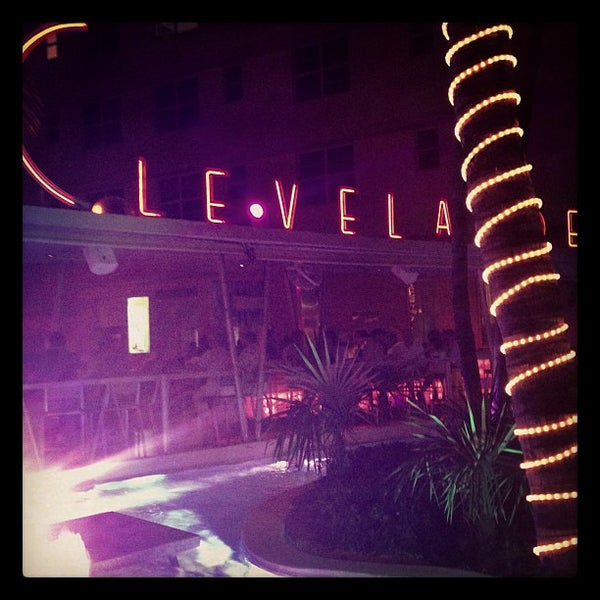 Photo taken at Clevelander by Michael Z. on 4/4/2013