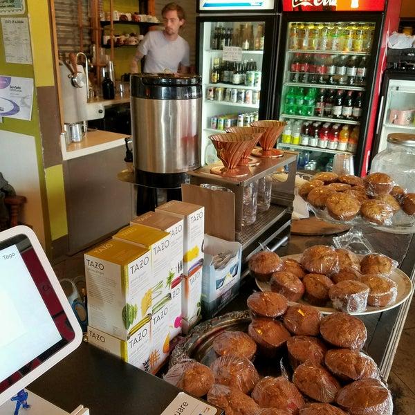 Photo taken at Rivertown Coffee by nicholas a. on 10/11/2016