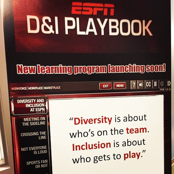 Photo taken at ESPN by Tirrell W. on 6/3/2015